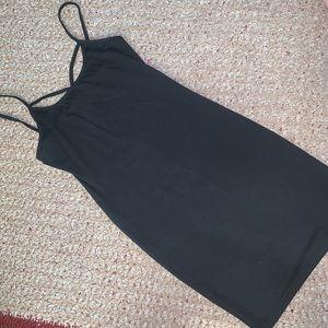 Dresses & Skirts - Black mini dress.
